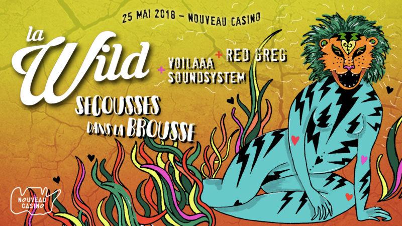 Facebook cover for La Wild